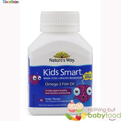 Kẹo bổ sung DHA Nature's Way Kids Smart 50 viên